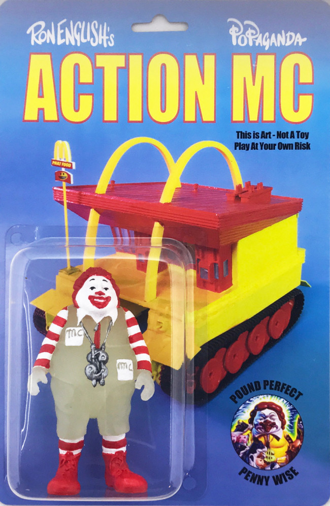 Ron English - Action MC GID Edition