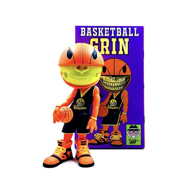 Ron English - Basketball Grin