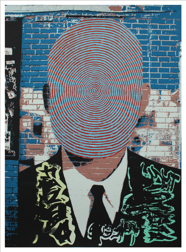Beacon Defaced print by Scott Lickstein
