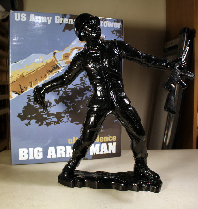 Frank Kozik - Big Army Man in Black