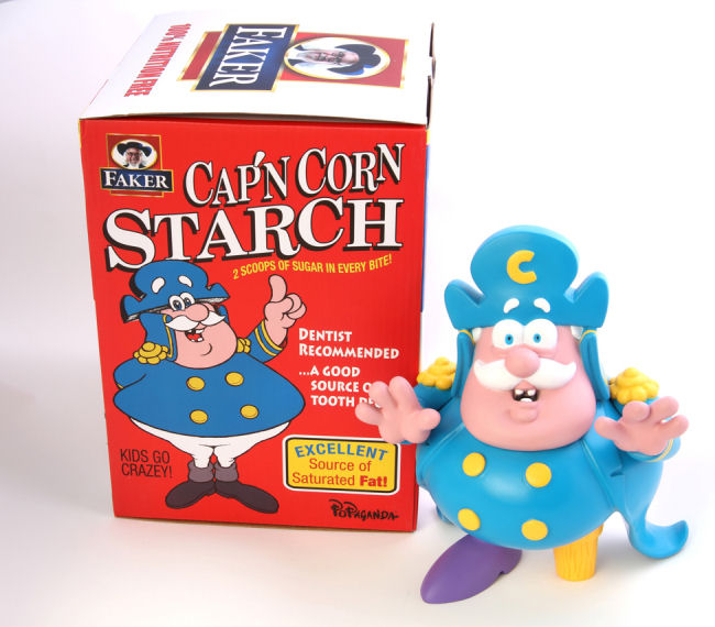 Ron English - Cap'n Cornstarch - Crunch Berries Colorway