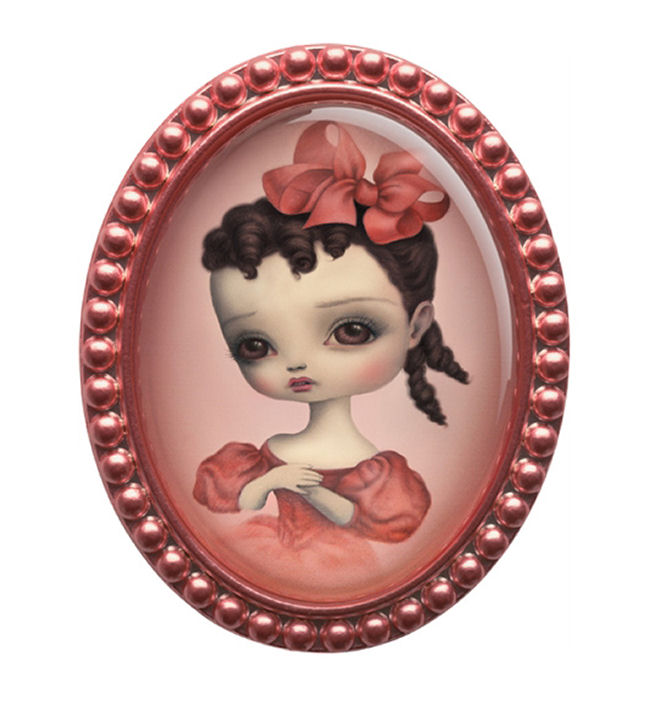 Mark Ryden - Daisy Brooch