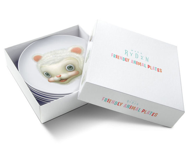 Mark Ryden - Friendly Animal Plates