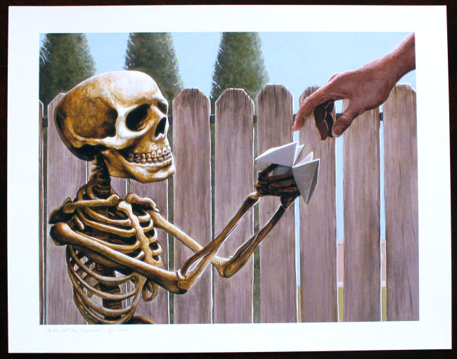Casey Weldon - Kids Will be Skeletons