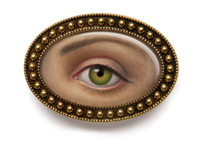 Mark Ryden - Lover's Eye Brooch
