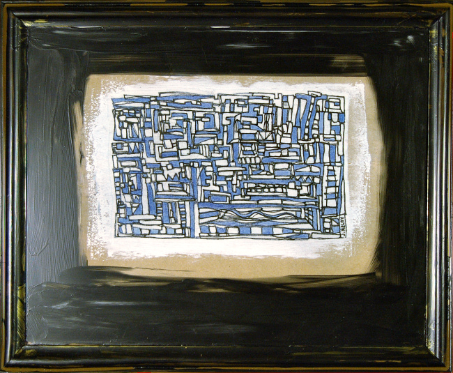 Joseph Meloy - Balancing Act - Mellow in Blue and White