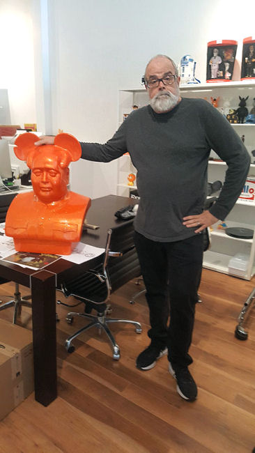 Frank Kozik - Orange Mega Mao