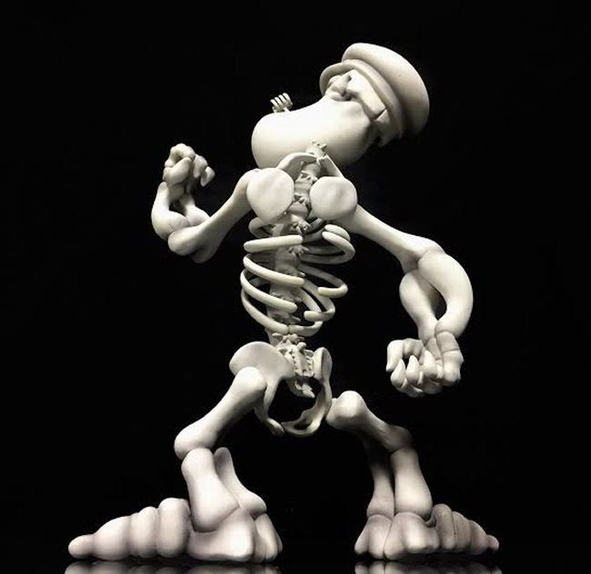 Ron English - Popeye Grin GID Edition