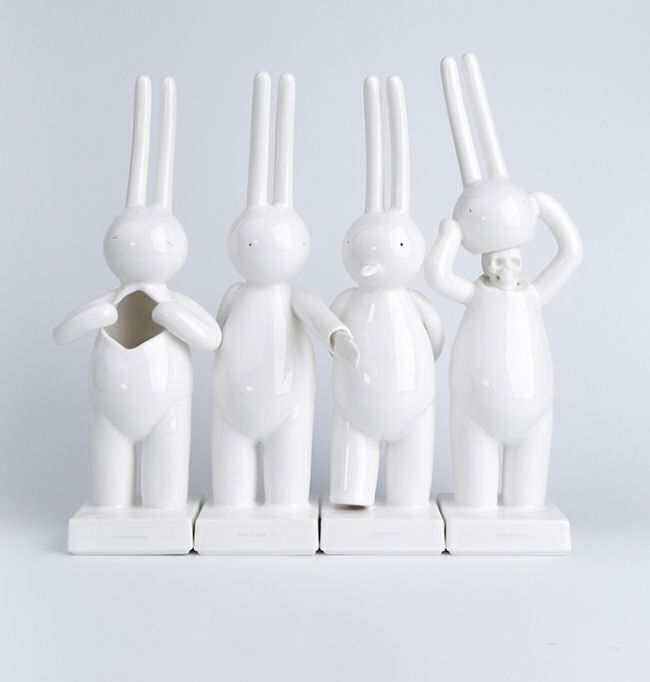 Mr. Clement - Porcelain Sculpture Set