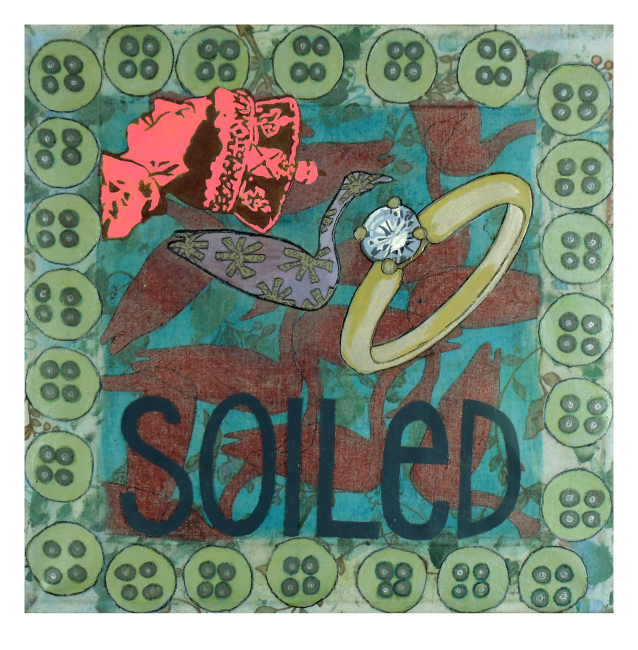 Soiled - print by Angela Oaks