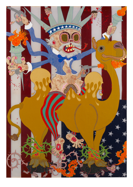 Aaron Johnson - The Second Coming of Uncle Sam - Limited Edition Print