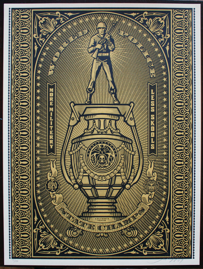 Shepard Fairey - World Police State Champs
