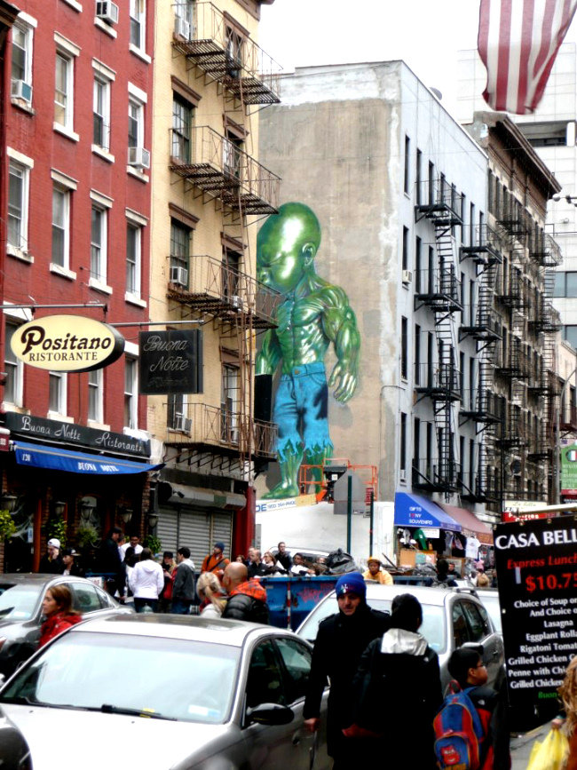 Temper Tot Mural NYC by Ron English