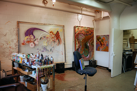 Aaron Johnson - Studio Visit - 2009