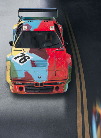 Andy Warhol - BMW M1 - Art Car - 1979