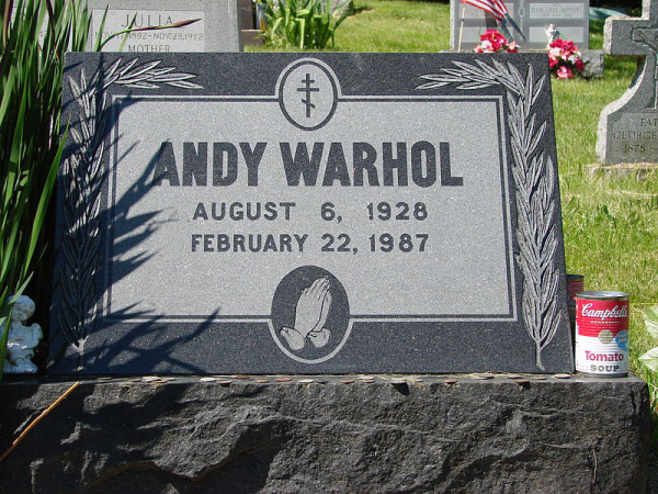 Andy Warhol - Grave Site