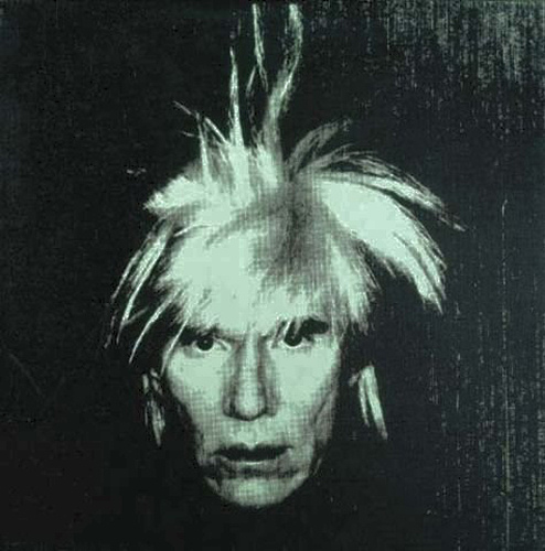 Andy Warhol - Self-portrait (Fright Wig) - 1986