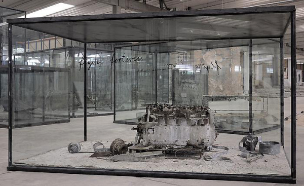 Anselm Kiefer - Flying Fortress - 2010