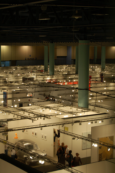 Art Basel - Miami Convention Center - Inside - 2009