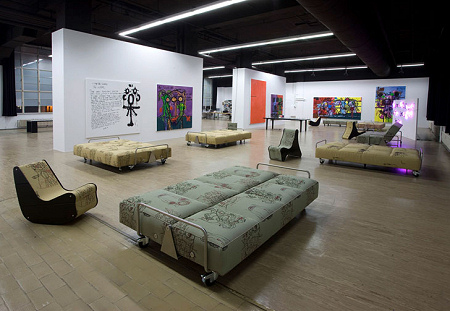 Bjarne Melgaard - A Kidwhore in Manhattan - A Novel - Exhibition View