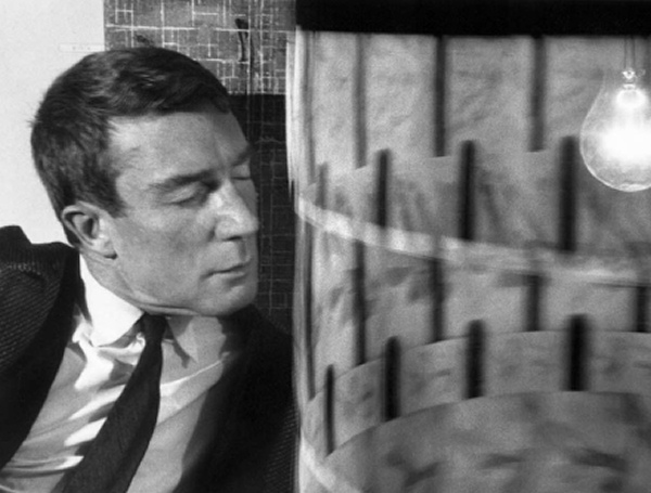 Brion Gysin - with Dreamachine - 1962