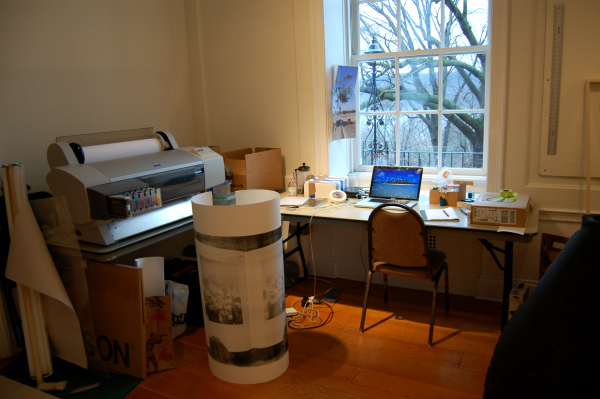 Cameron Rowland - Wave Hill Winter Workspace - 2012