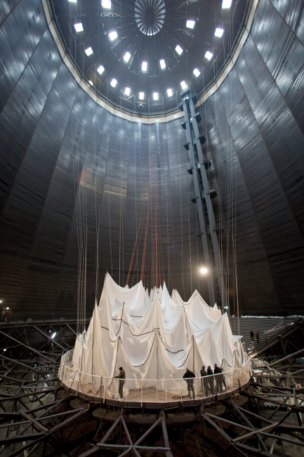 Christo - Big Air Package Construction - 2013
