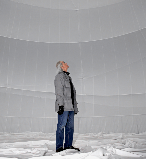 Christo - Big Air Package Interior - 2013