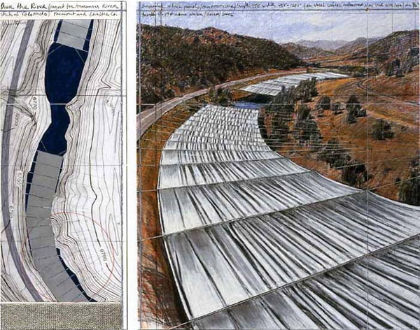 Christo - Over the River - 2010
