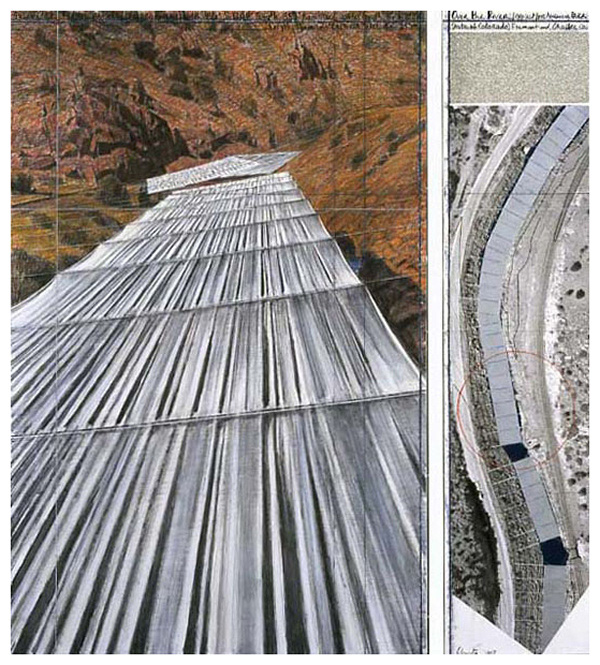 Christo and Jeanne-Claude - Over the River
