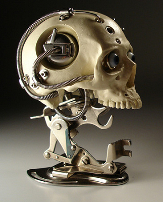Christopher Conte - Miniature Biomechanical Skull