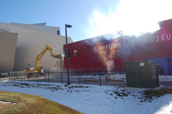 Clyfford Still Museum - Groundbreaking Celebration - 2009