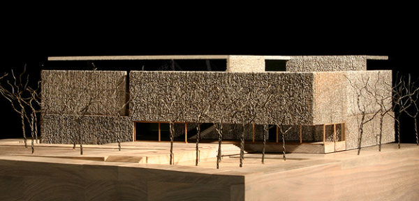 Clyfford Still Museum - Model Elevation - Allied Works Architecture - 2009