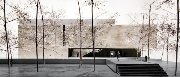 Clyfford Still Museum - North Rendering - Allied Works Architecture - 2009