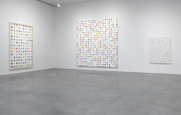 Damien Hirst - The Complete Spot Paintings - Installation View - 2012