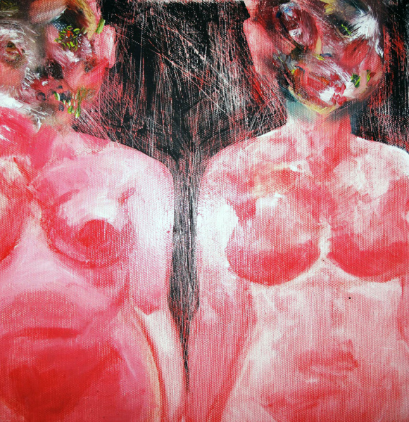 David Choe - Fat Ugly Girls - 2010