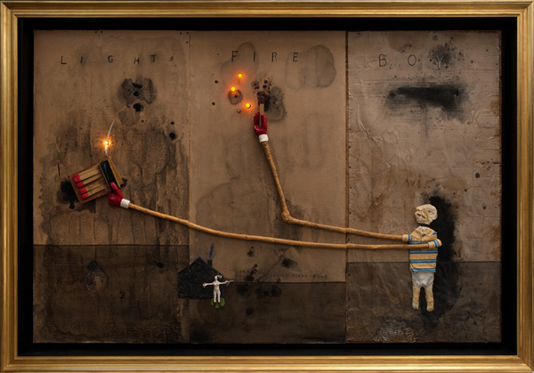 David Lynch - Boy Lights Fire - 2012