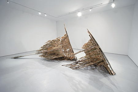 Diana Al-Hadid - The Tower of Infinite Problems - 2008 - Courtesy of the Saatchi Gallery