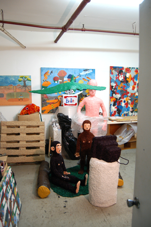 Don Porcella - Studio Visit - 2012