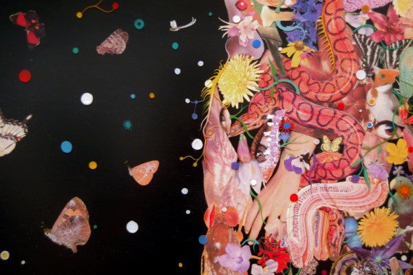 Fred Tomaselli - Fungi and Flowers - 2002