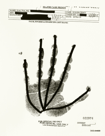 Jenny Holzer - Palm, Fingers and Fingertips 000406 - 2007