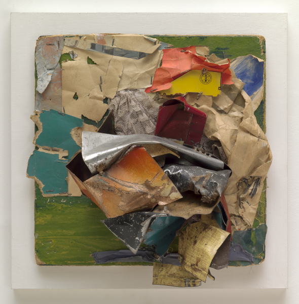 John Chamberlain - Untitled - 1960