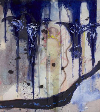 Julian Schnabel - Untitled Chinese Painting