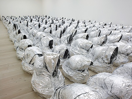 Kader Attia - Ghost - 2007 - Courtesy of the Saatchi Gallery