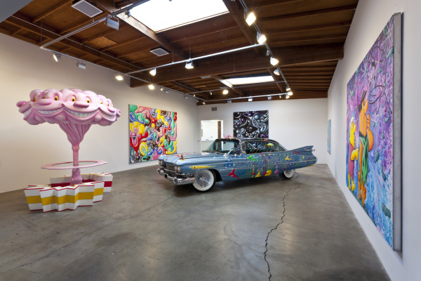 Kenny Scharf - Hodgepodge - installation view - 2012