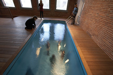Leandro Erlich - Swimming Pool - PS1