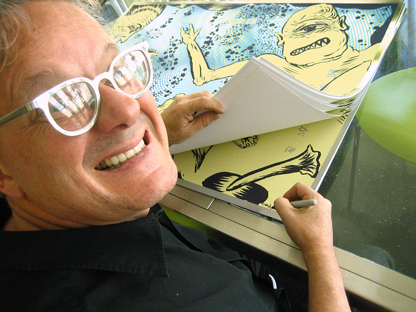 Mark Mothersbaugh - Drinkin' with Cyclops signing - 2009