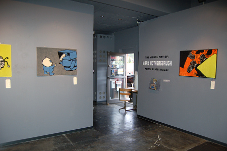 Mark Mothersbaugh - NOWhere Limited - Exhibition Photo - 2009