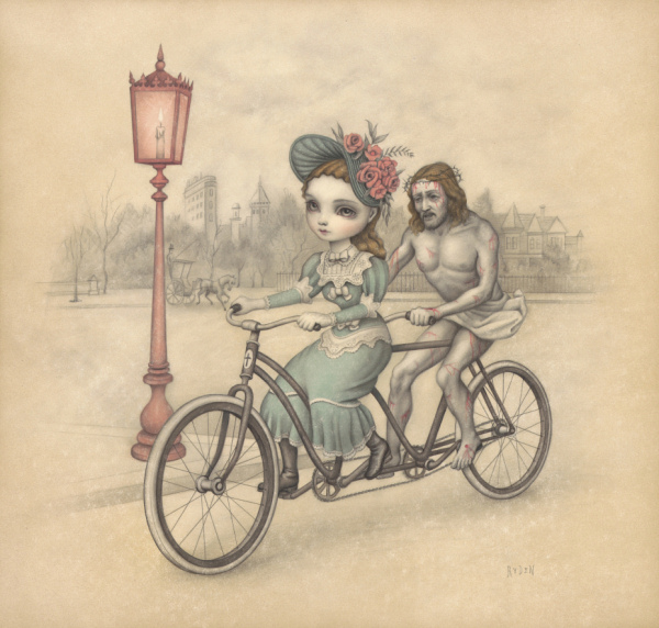 Mark Ryden - Riding with the Lord - 2010