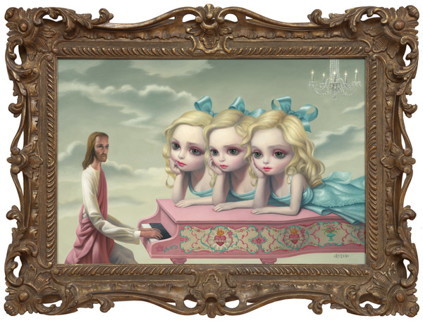 Mark Ryden - The Piano Player - 2010